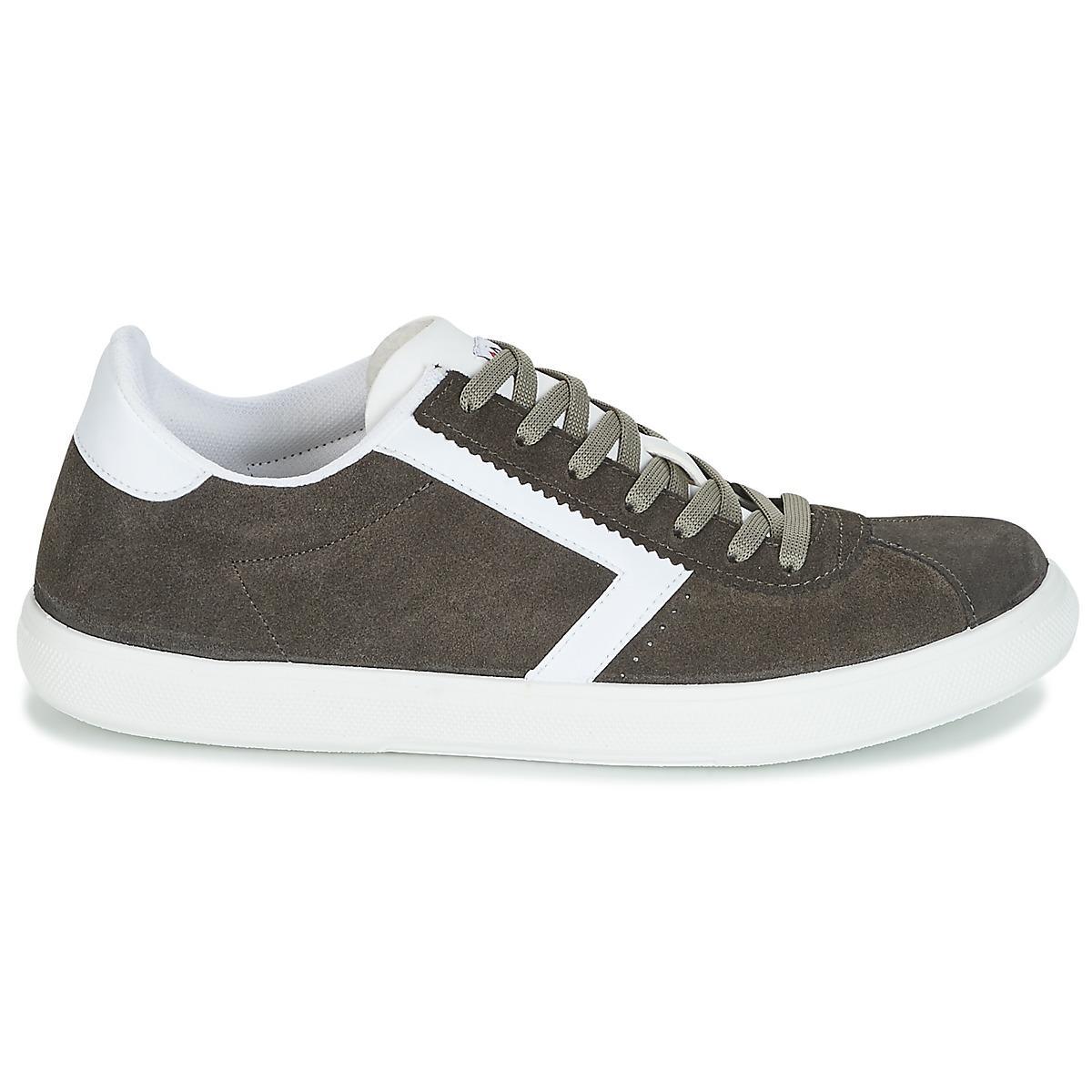 Yurban Lage Sneakers Retipus in het Groen voor heren