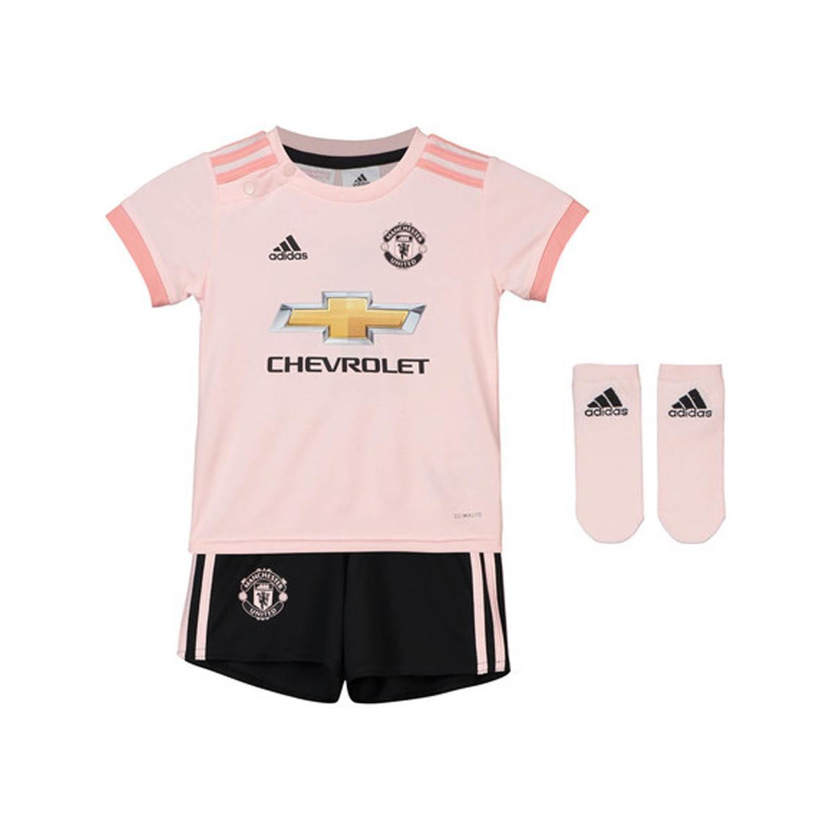 low priced e1739 ba730 Adidas 2018-19 Man Utd Away Baby Kit (pogba 6) Women's In Pink for men