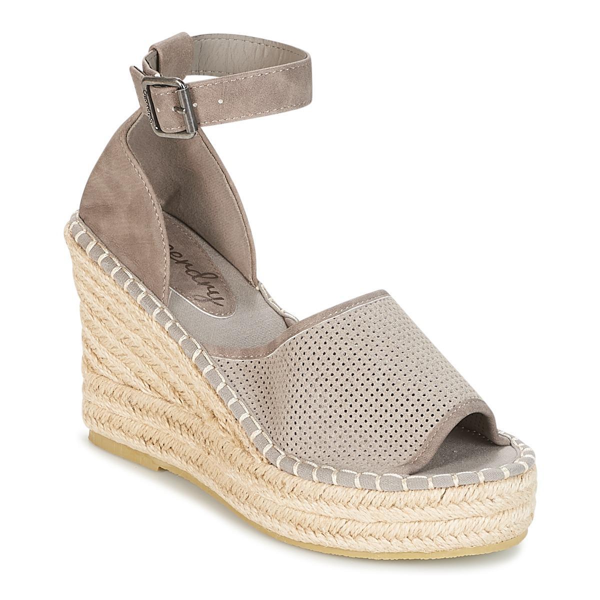 Superdry Anna Wedge Espadrille Sandals