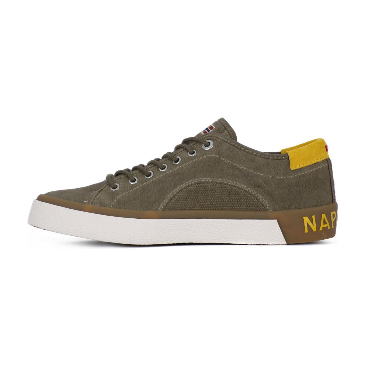 Napapijri N83 Jakob Khaki Men's Shoes (trainers) In Brown for Men