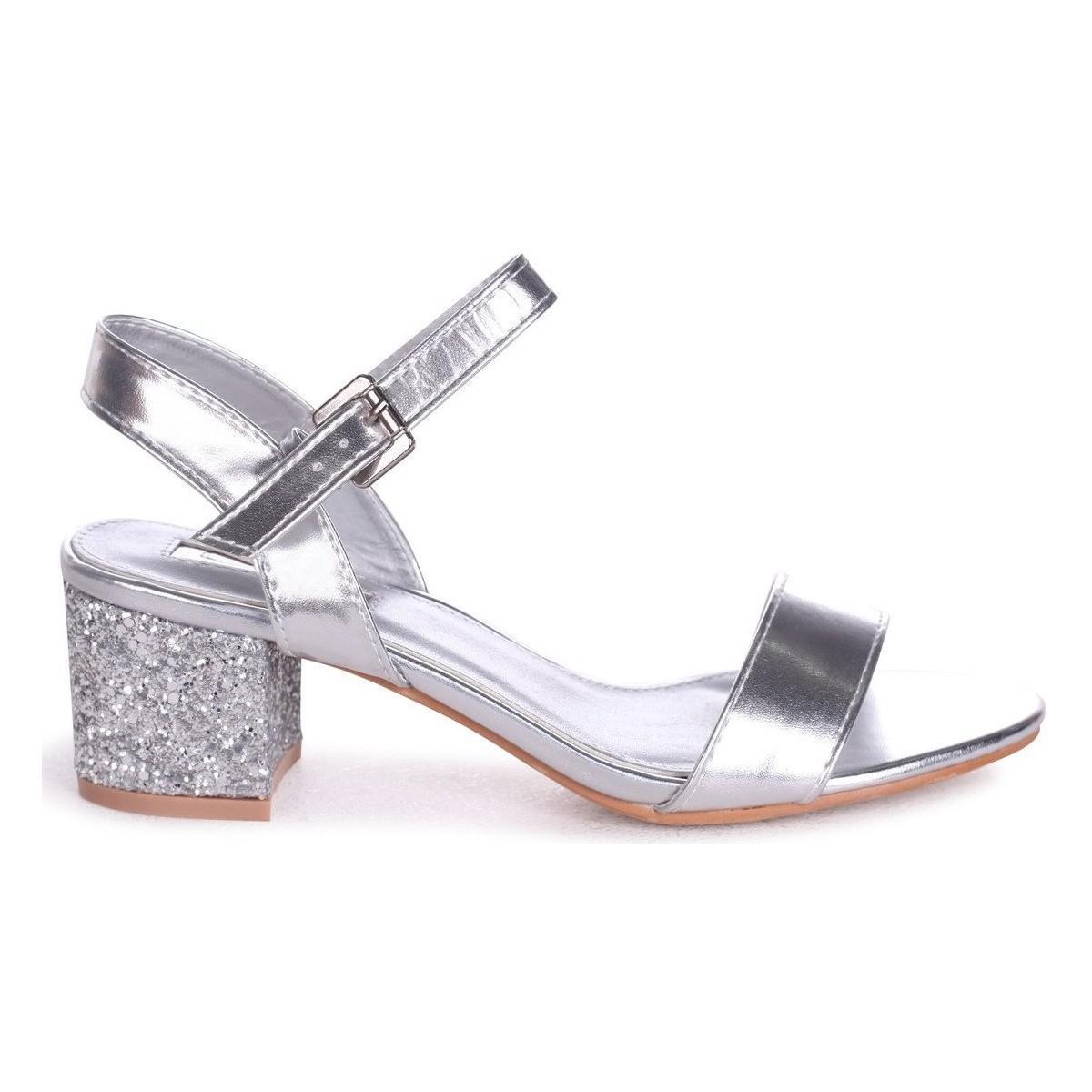 f39d5ca87a7 Linzi Guilty Women s Sandals In Silver in Metallic - Lyst
