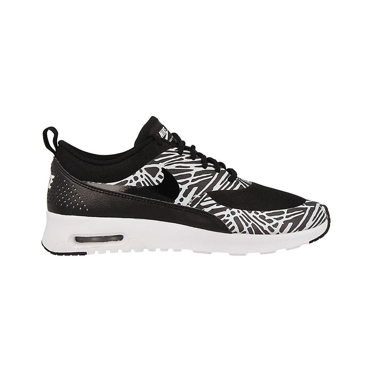 Nike Wmns Air Max Thea Print Women's Shoes (trainers) In Black