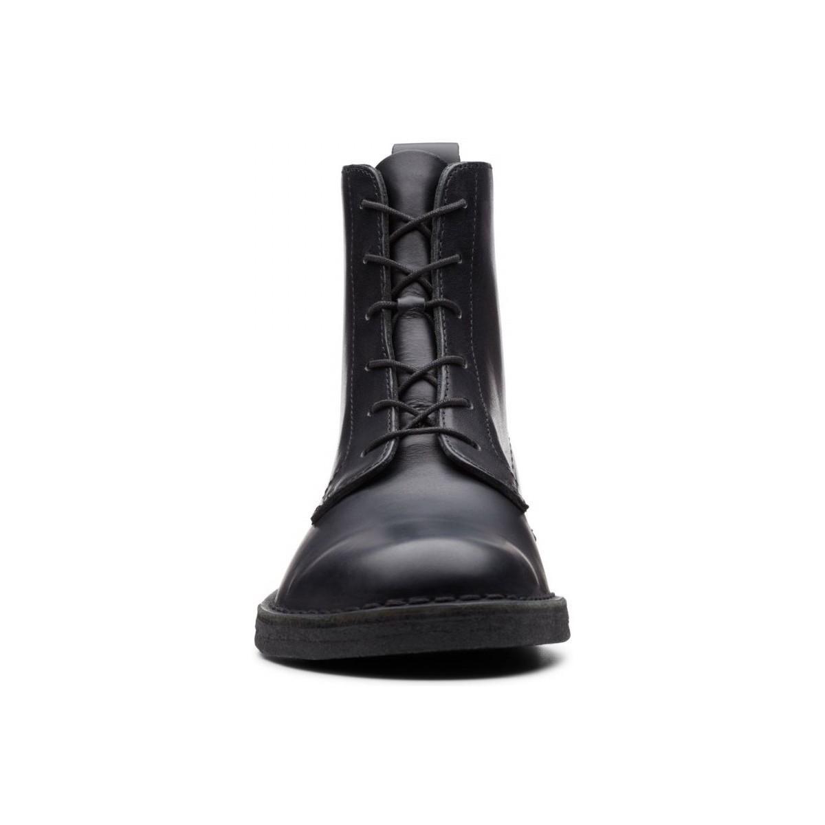 Desert Mali Boots Clarks pour homme en coloris Noir