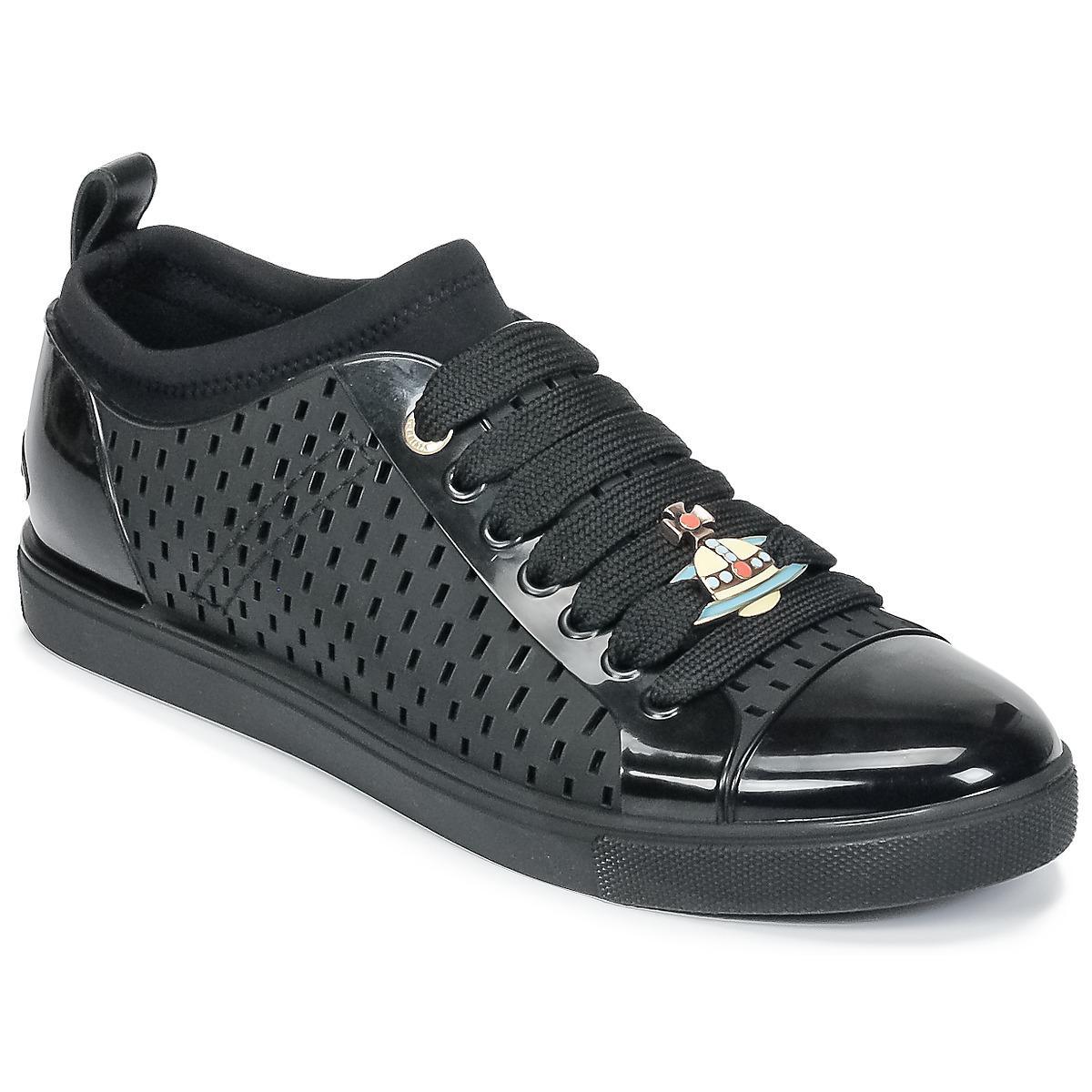 649b6670ce1b1 Vivienne Westwood Sneaker Orb Men's Shoes (trainers) In Black in ...