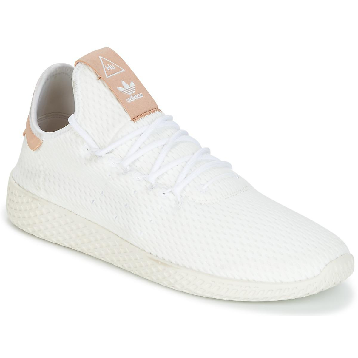 e54311707c7f6 adidas Pharrell Williams Tennis Hu Men s Shoes (trainers) In White ...