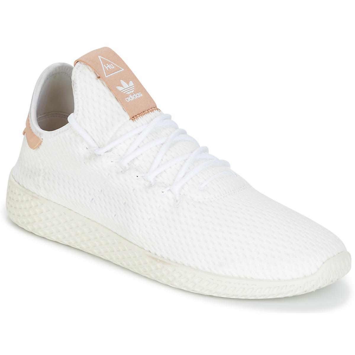 adidas Pharrell Williams Tennis Hu Women s Shoes (trainers) In White ... 6d6c31e3b