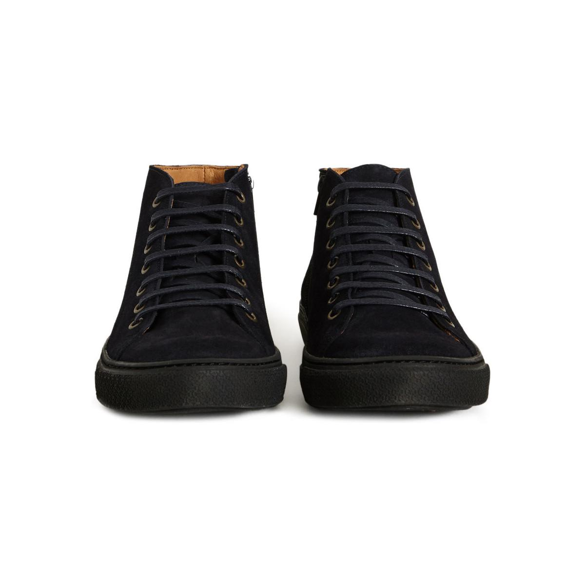 Anthology Mid-top Janis Trainers 48166 Navy Blue Men's Trainers In Blue for Men