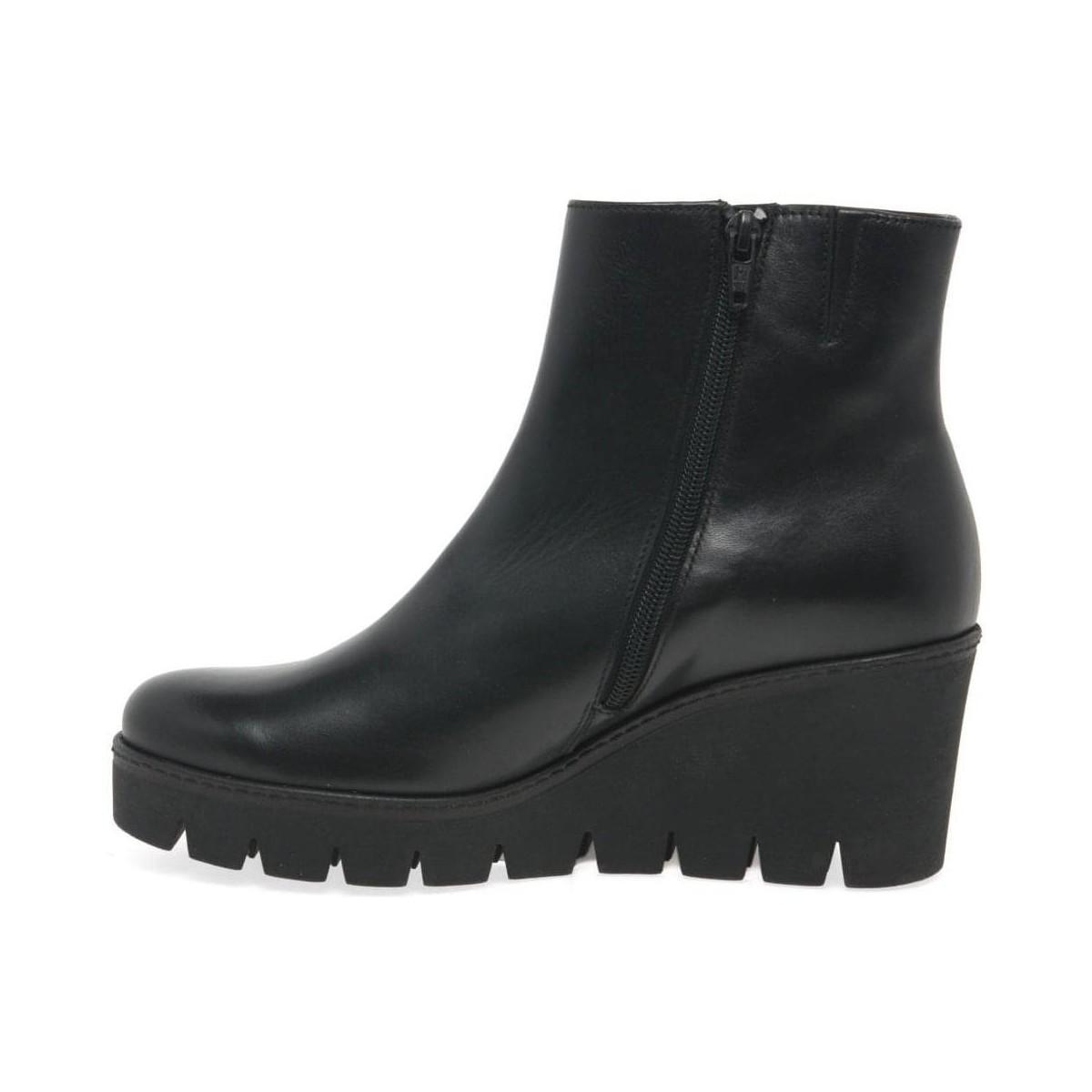 Gabor Leather Utopia Womens Chunky