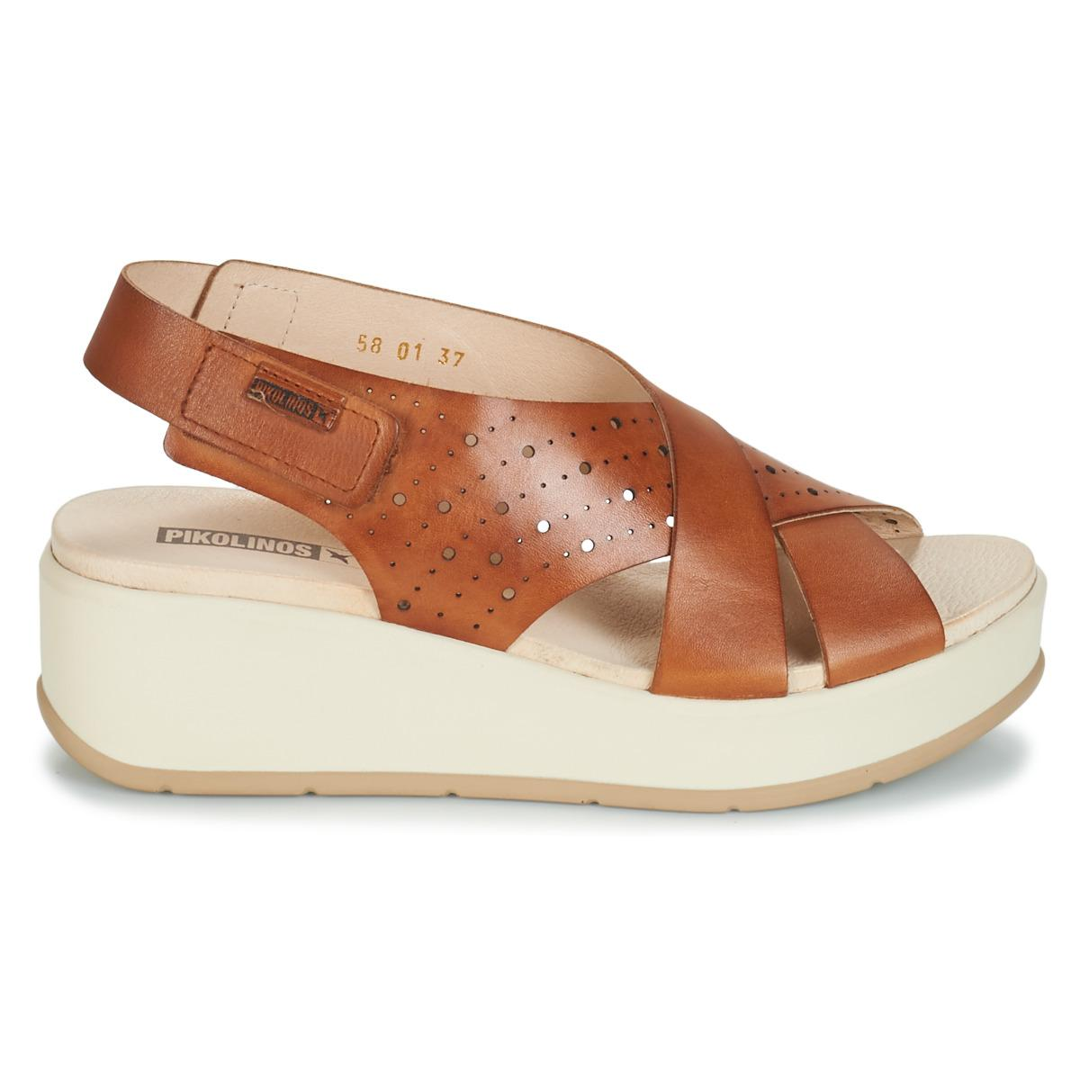 Brown W3x In Pikolinos Costacabana Women's Sandals 5LRq34Aj
