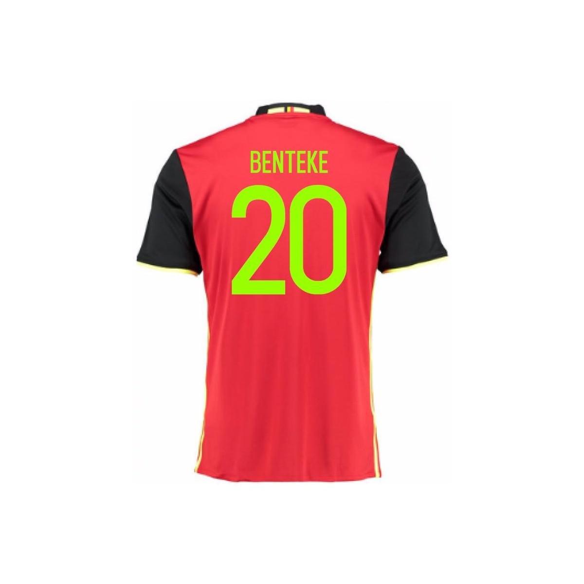 Adidas 2016-2017 Belgium Home Shirt (benteke 20) Men s T Shirt In ... c8b638474