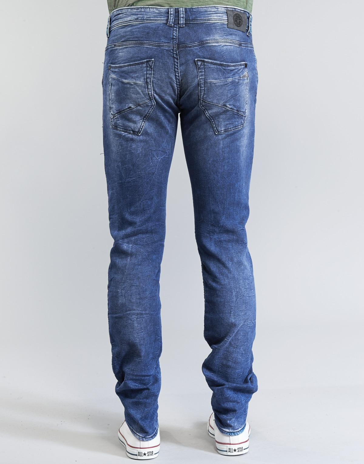 Le Temps Des Cerises Denim 711 Jogg Men's Skinny Jeans In Blue for Men