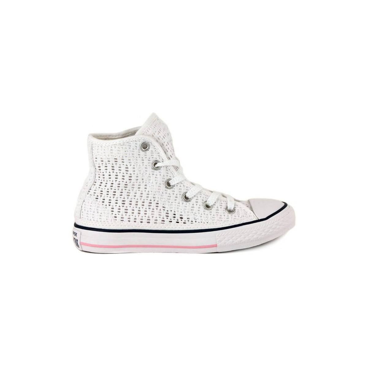 Converse All Star Hi Men's Shoes (high-top Trainers) In White for Men