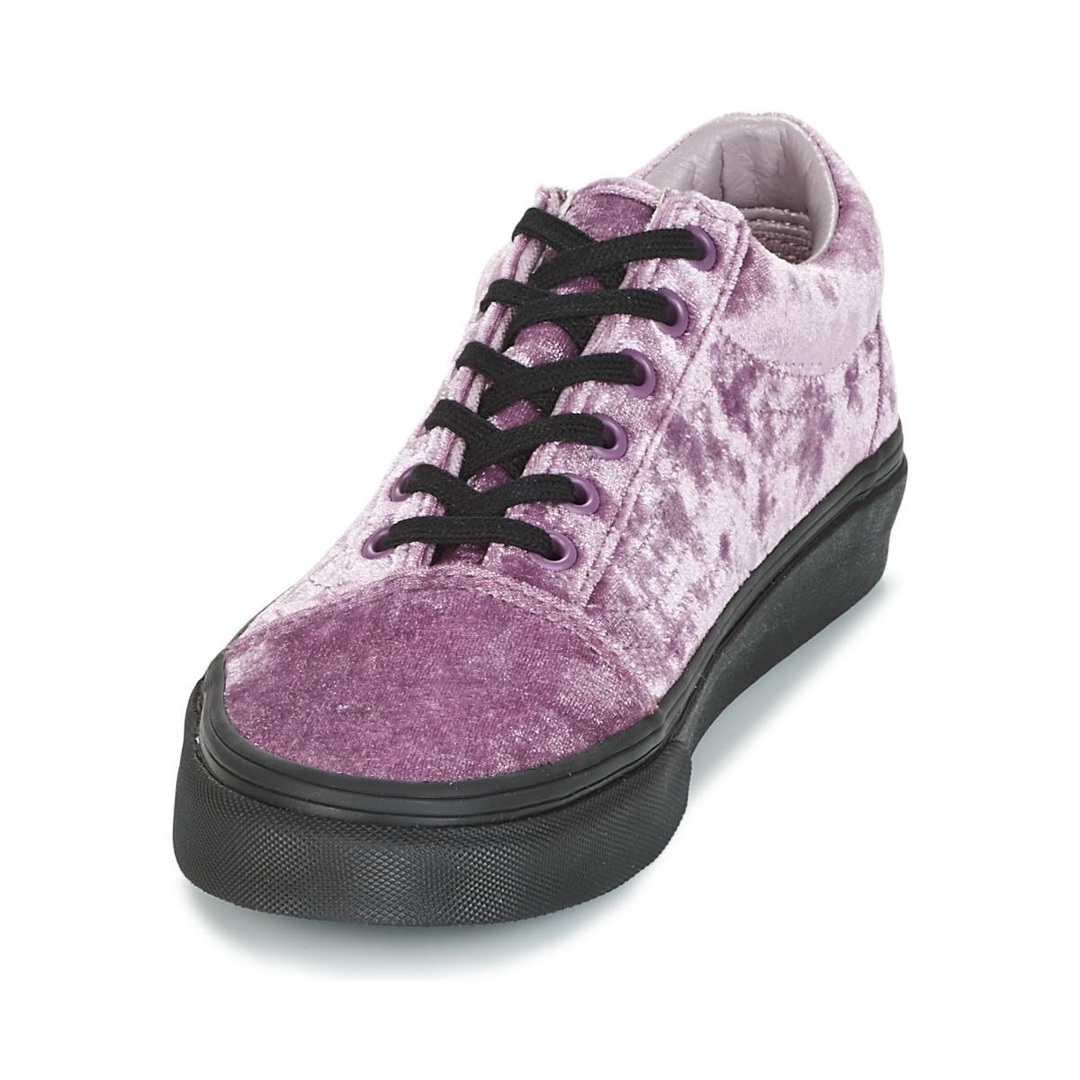 Vans Old Skool Women's Shoes (trainers) In Pink