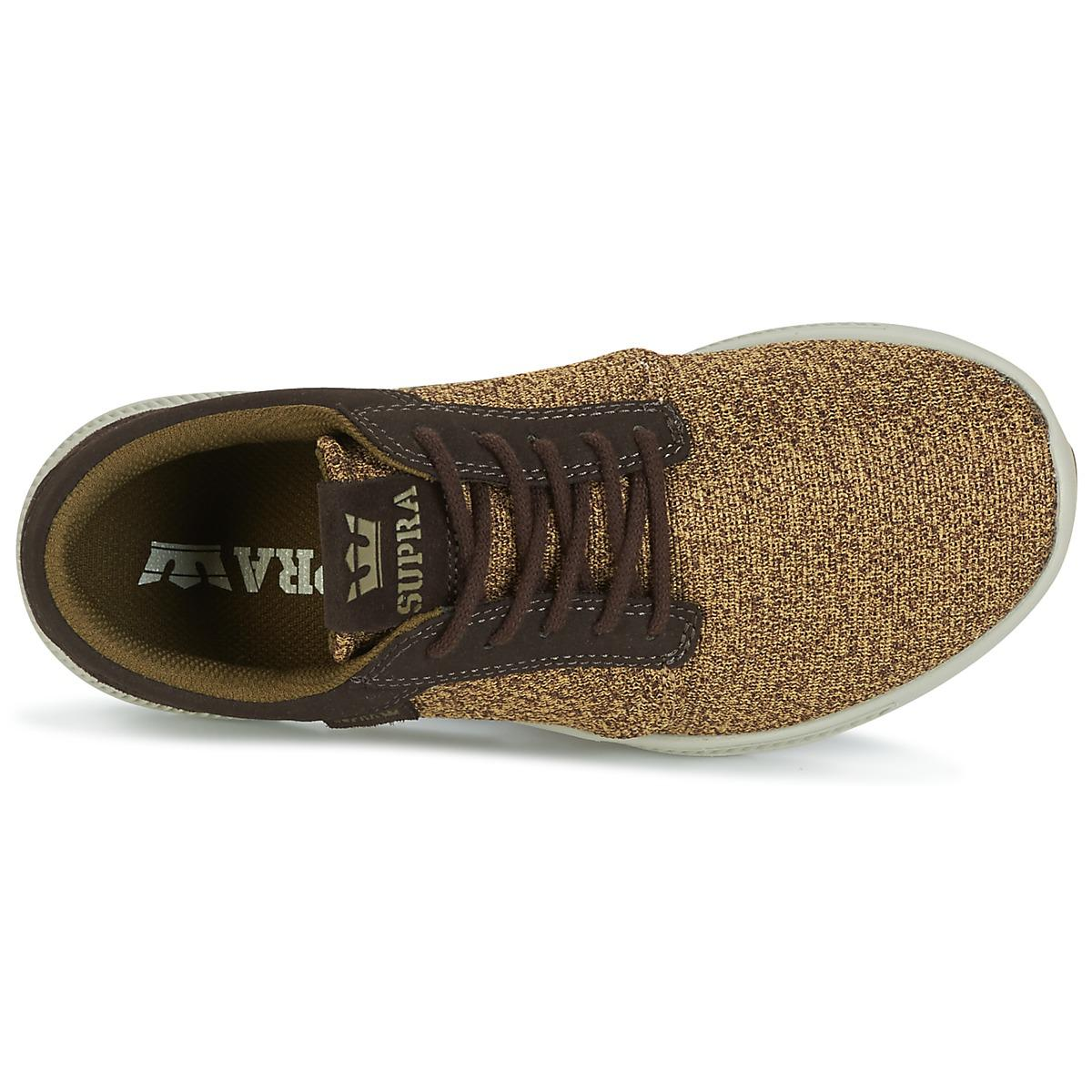 Supra Leather Hammer Run Women's Shoes (trainers) In Brown