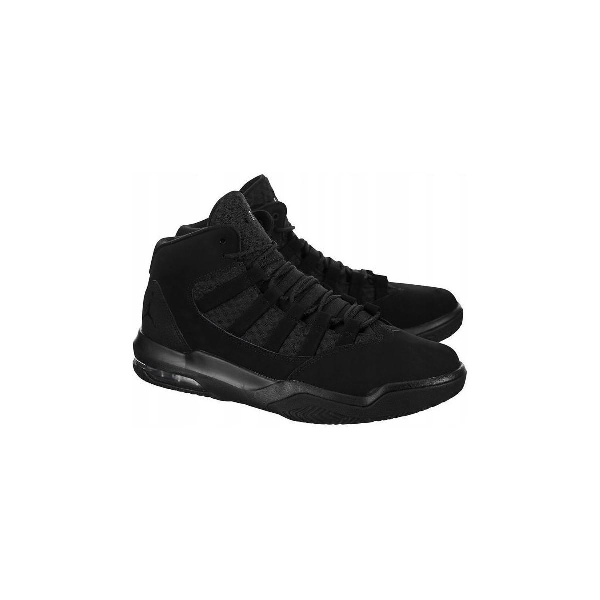 16954f4b7abc2e Nike Air Jordan Max Aura Men s Shoes (high-top Trainers) In Black in ...