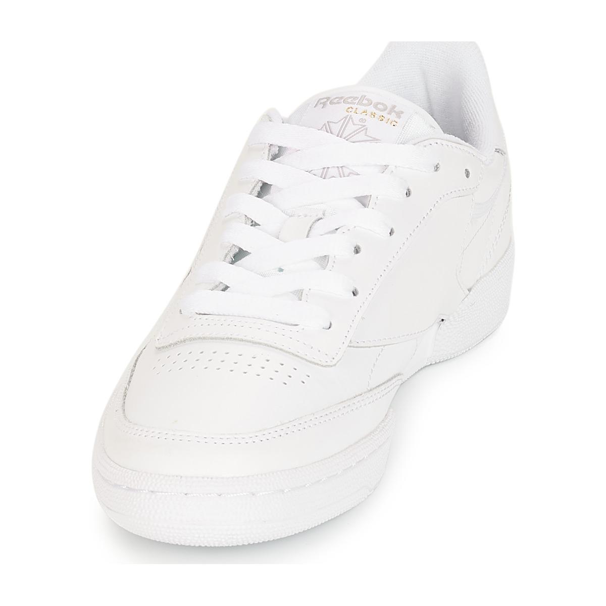 Reebok Club C 85 Shoes (trainers) in White - Save 30%