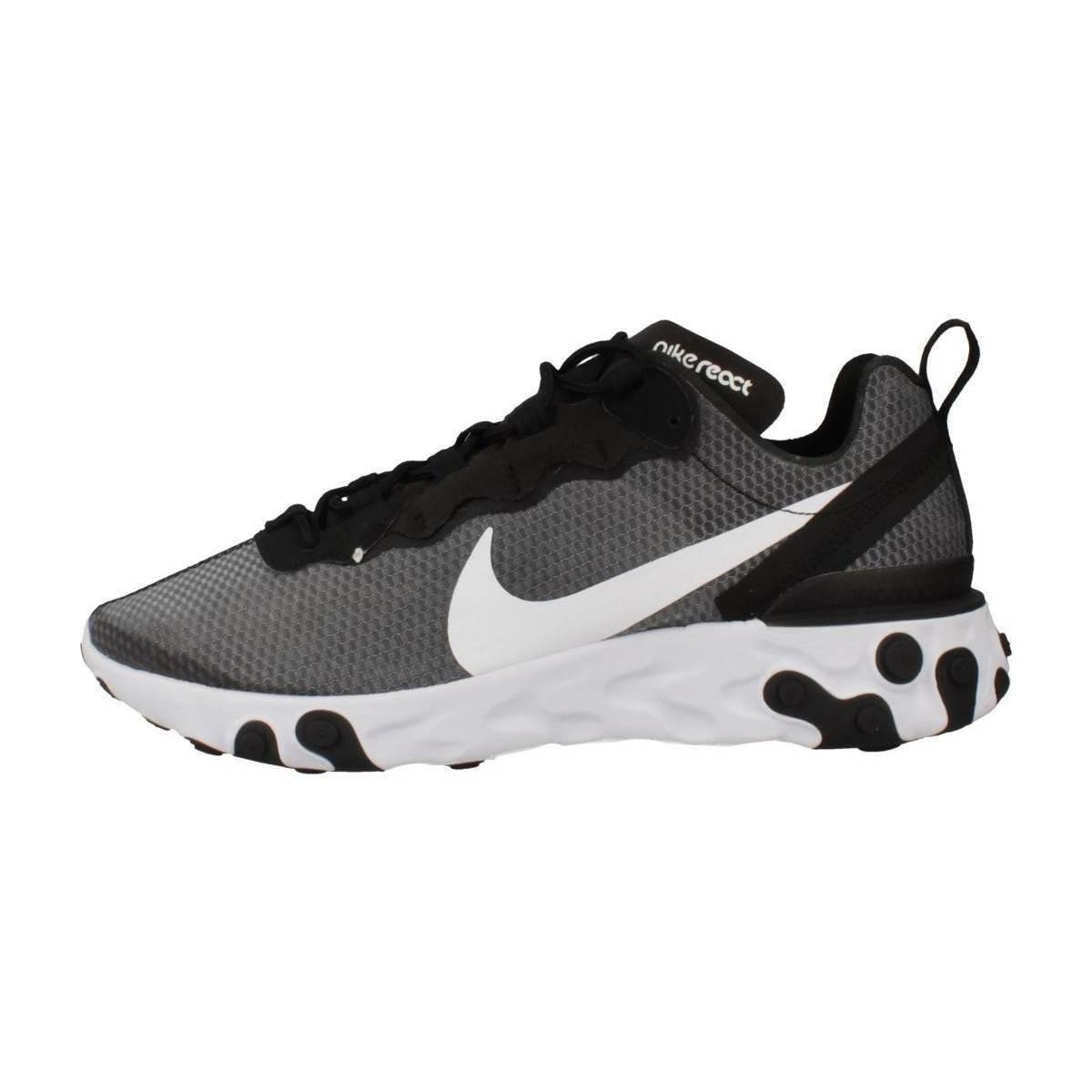 REACT 55 Chaussures Nike pour homme en coloris Gris - Lyst