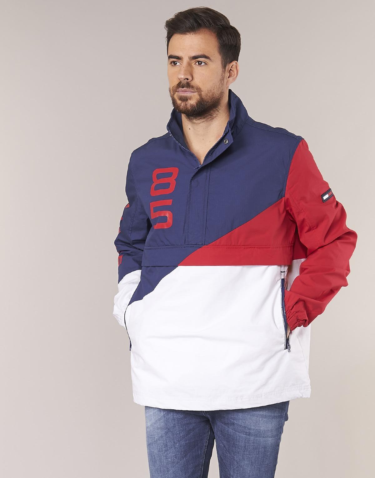 Tommy Jeans Retro Block Pullover Jacket