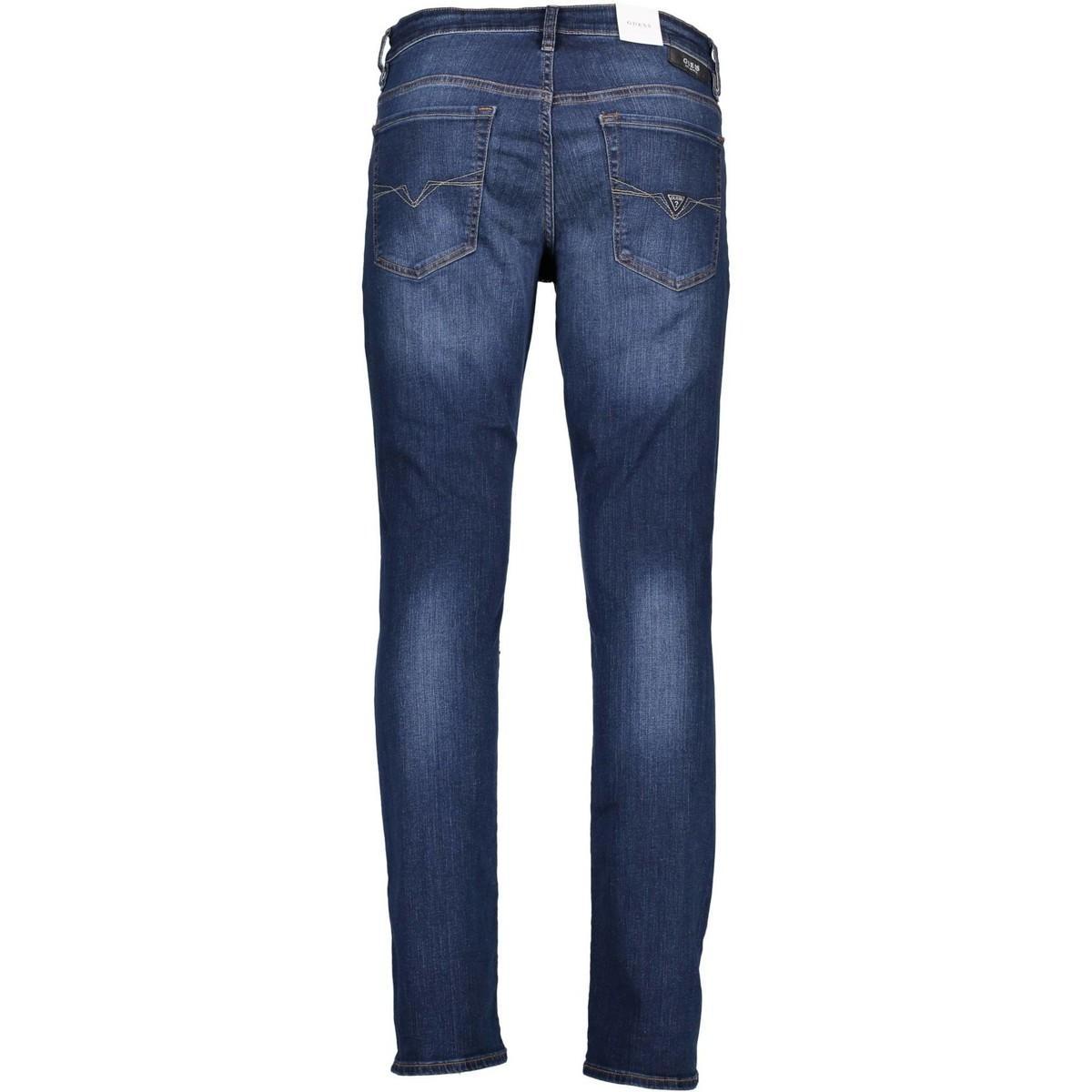 Guess Denim Straight Jeans M83an2d37m0 in het Blauw voor heren