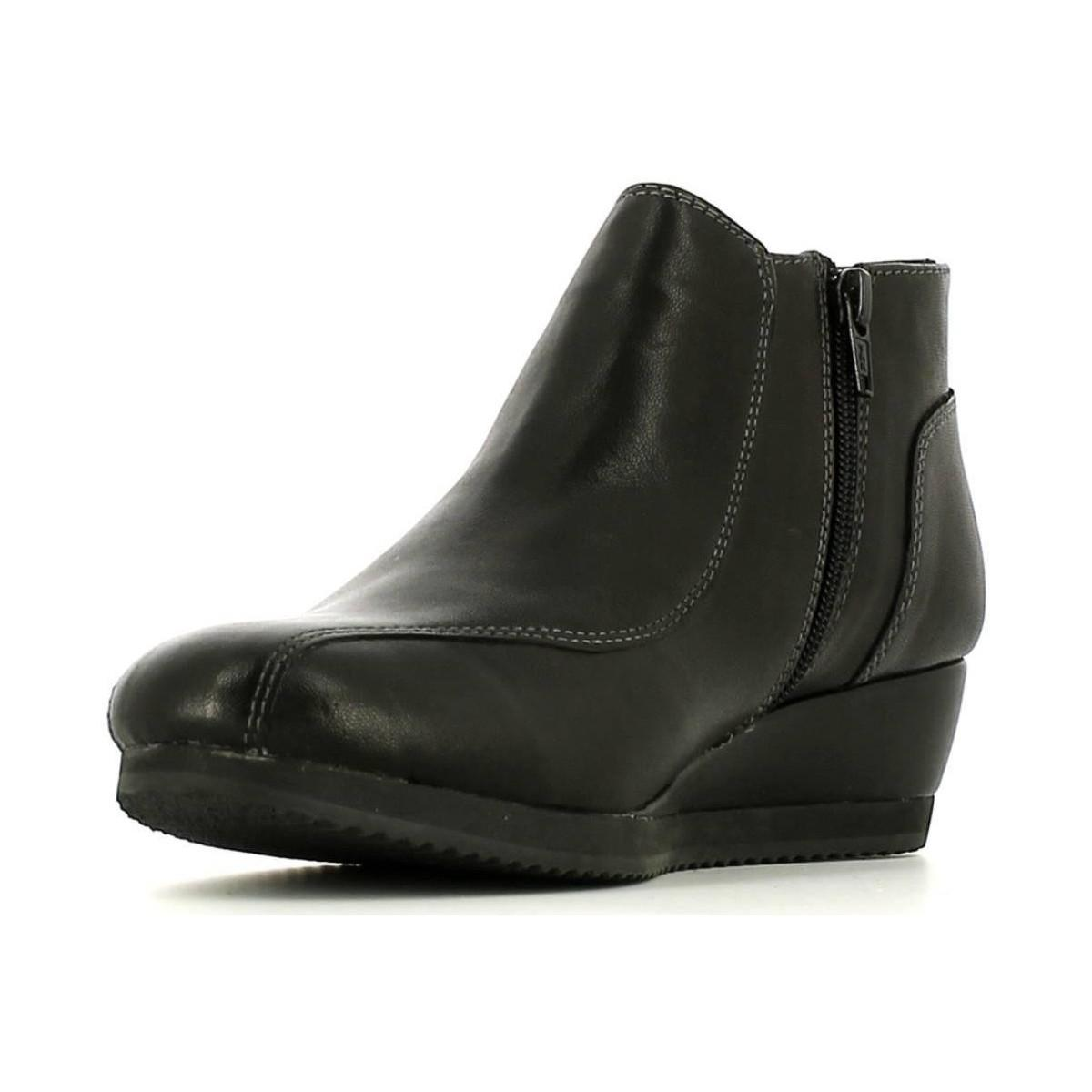 Stonefly 105007 Ankle Boots Women Black Women's Mid Boots In Black
