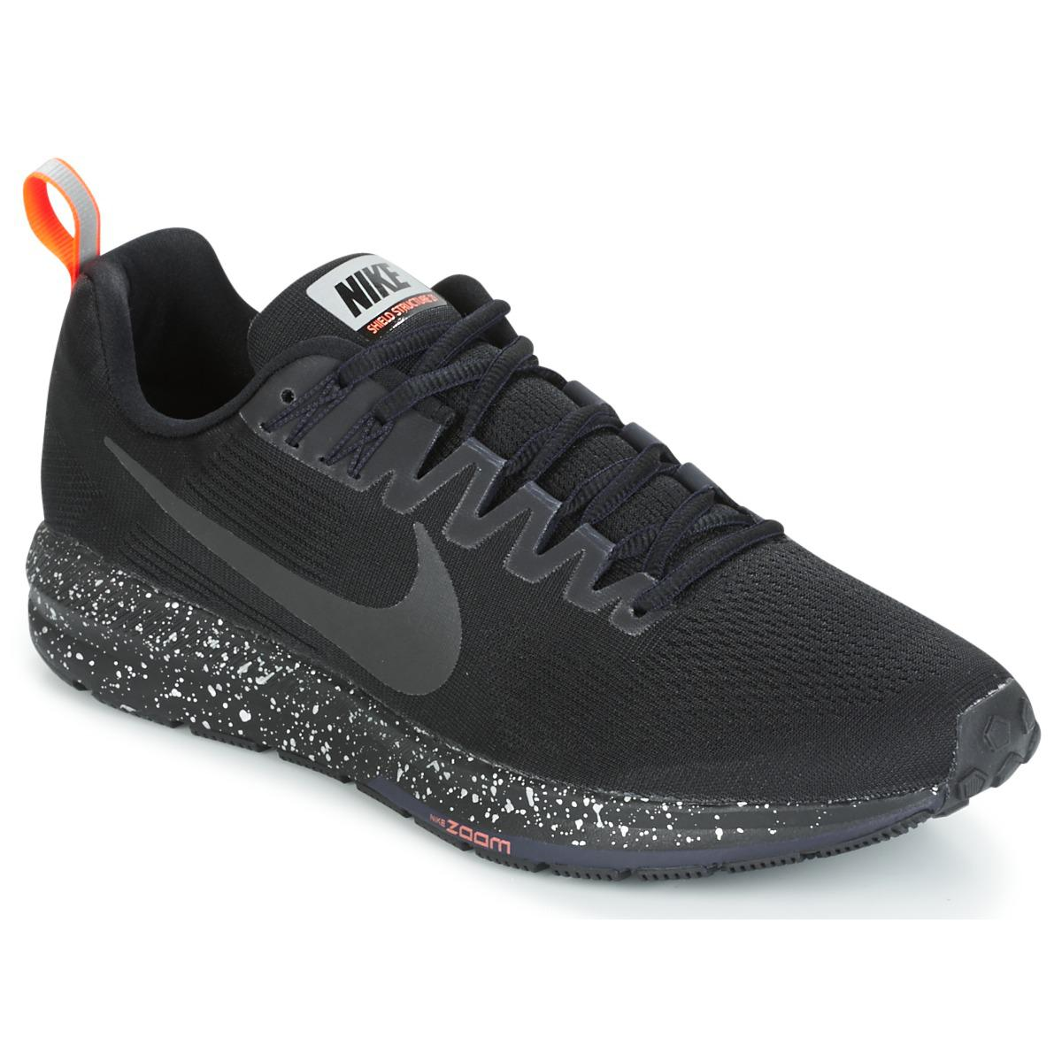 88029543fa68 Nike Air Zoom Structure 21 Shield Men s Running Trainers In Black in ...
