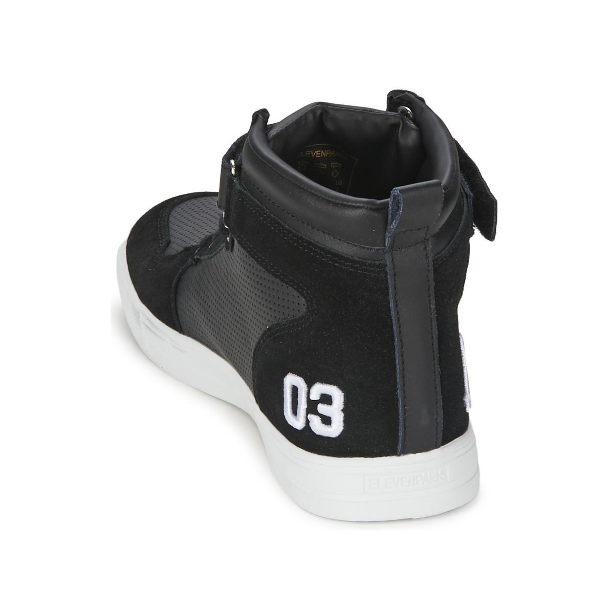 SNEAKER Chaussures ELEVEN PARIS pour homme en coloris Noir aWlG