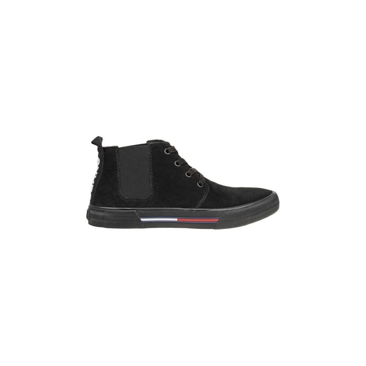 Tommy Hilfiger Pour Noir Hommes Lyst Chaussures En Em0em00127990 URFPqF
