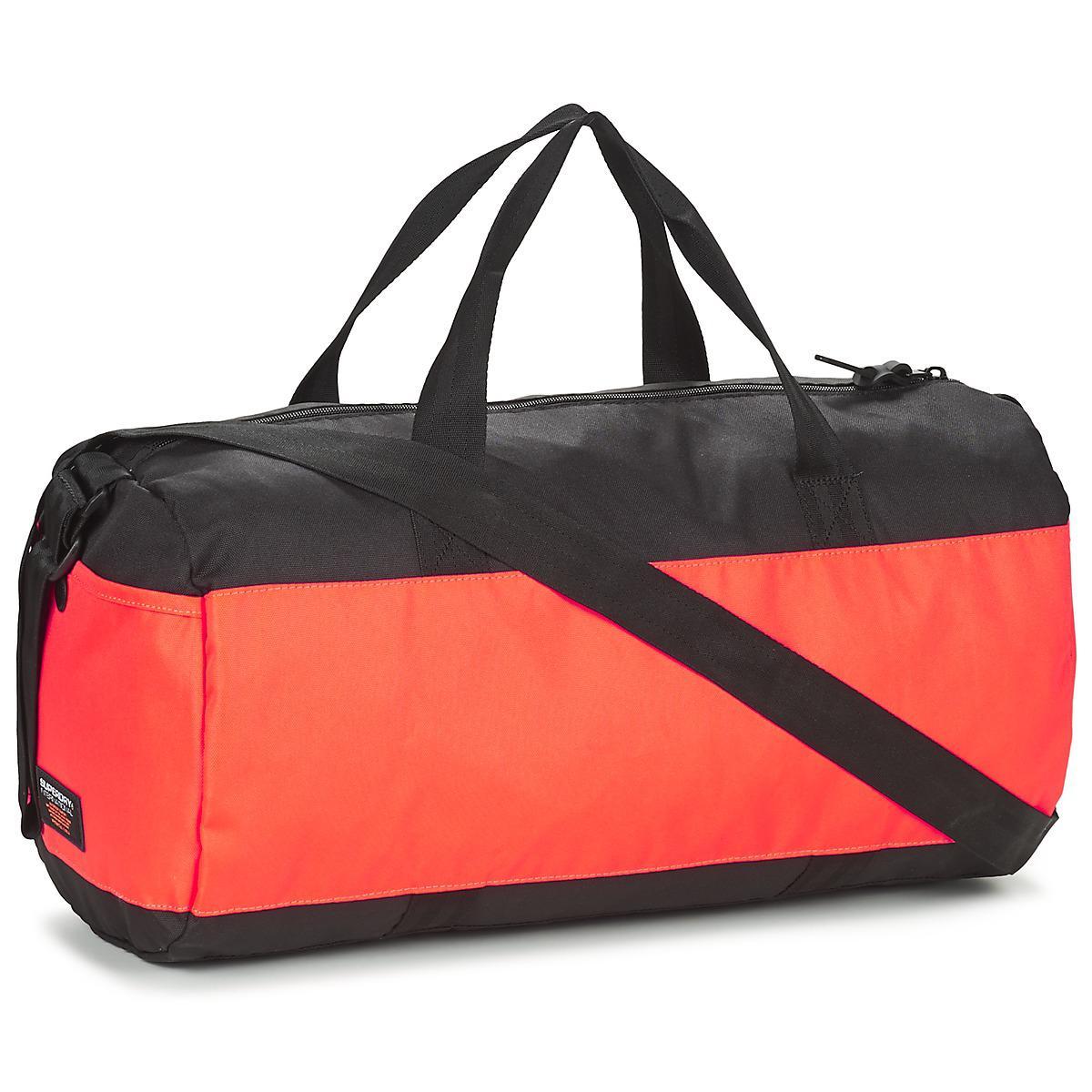Superdry - Montana Barrel Women s Sports Bag In Black for Men - Lyst. View  fullscreen 1b309d9386