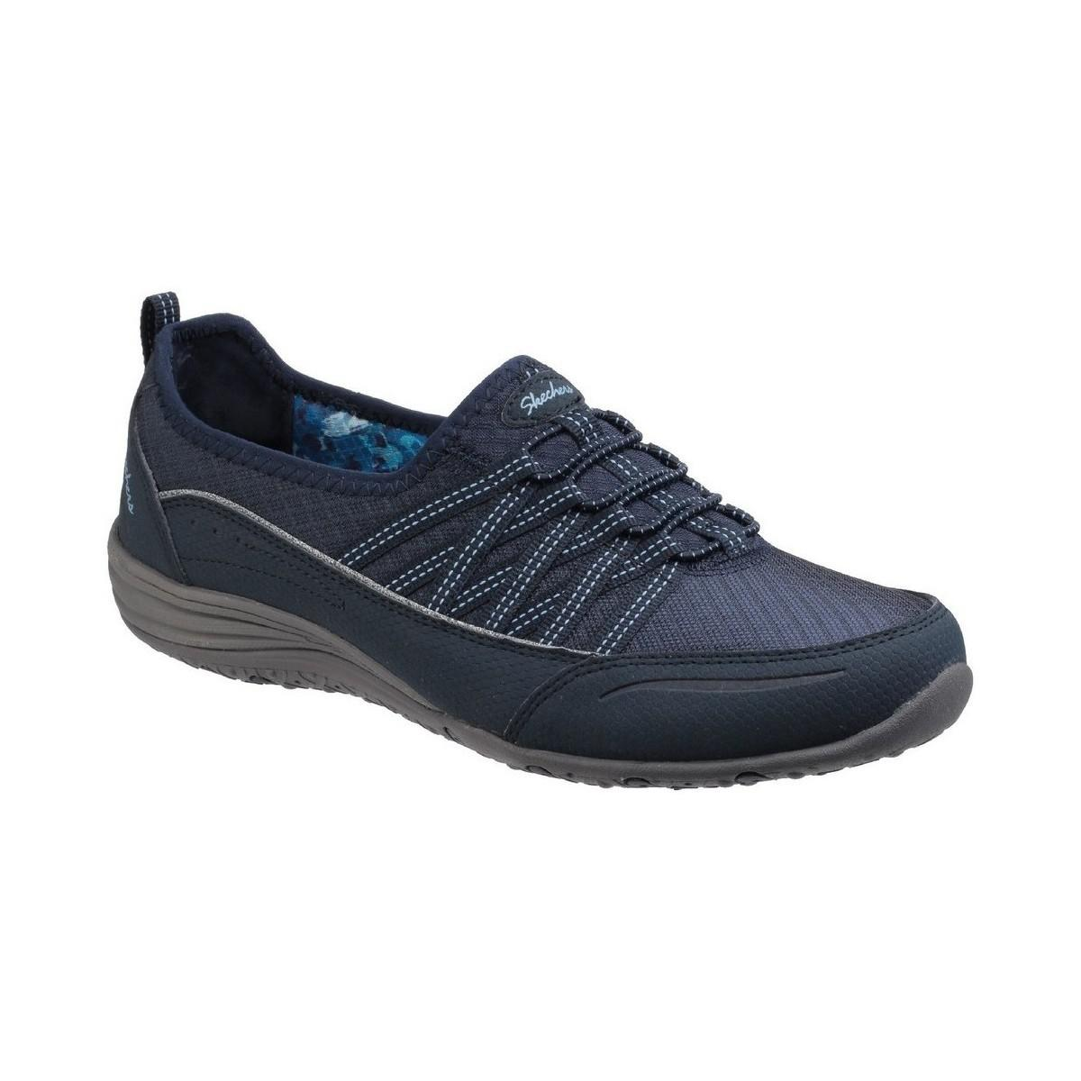 Skechers Unity Go Big Womens Casual Sports Shoes Women's Shoes (trainers) In Blue