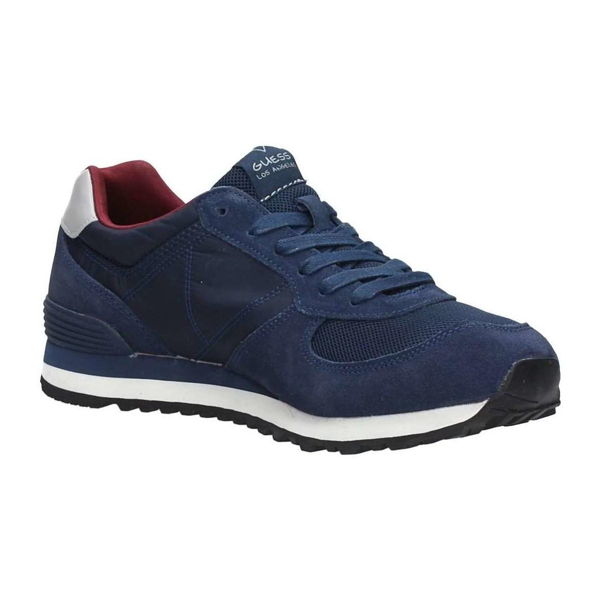 Guess Fmcha1 Fab12 Sneakers Men's Shoes (trainers) In Blue for Men