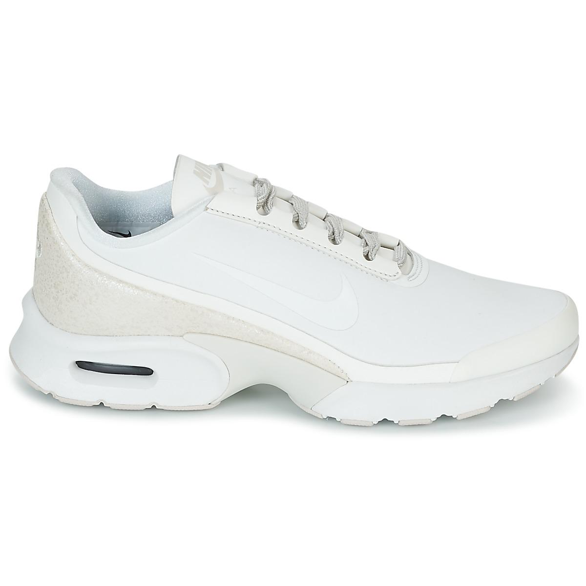Nike Air Max Jewell Leather W Women's Shoes (trainers) In White