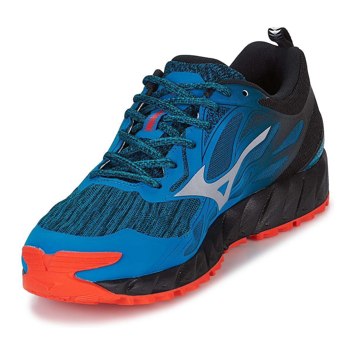 Mizuno Wave Ibuki Gtx Running Trainers in Blue for Men