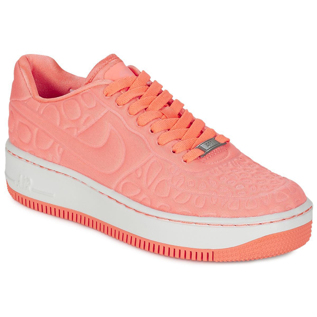 Upstep Plush W Air 1 Rose Force Nike En Coloris Chaussures Femmes derCoWEQBx