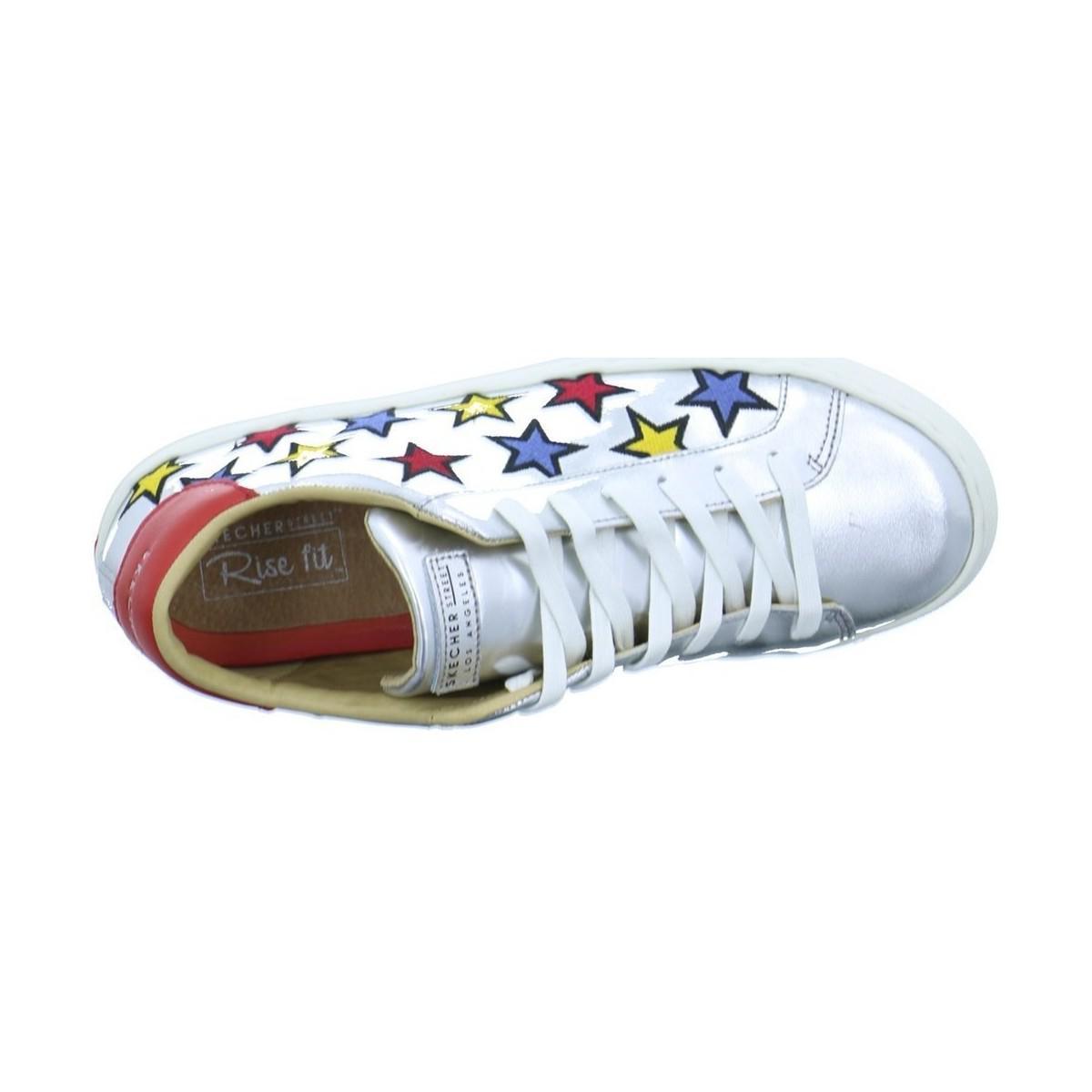 Skechers Side Street Star Men's Shoes (trainers) In Silver in Metallic for Men