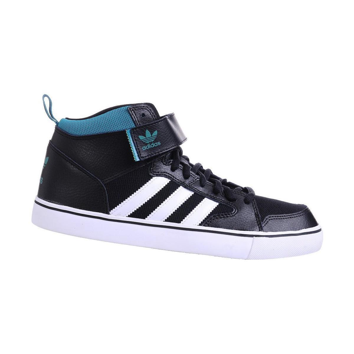 lyst adidas varial metà maschile di basket dei formatori (le scarpe) in bianco