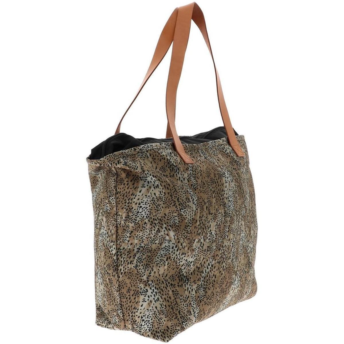 Cabas Flask leopard sac lady Eastpak en coloris Noir