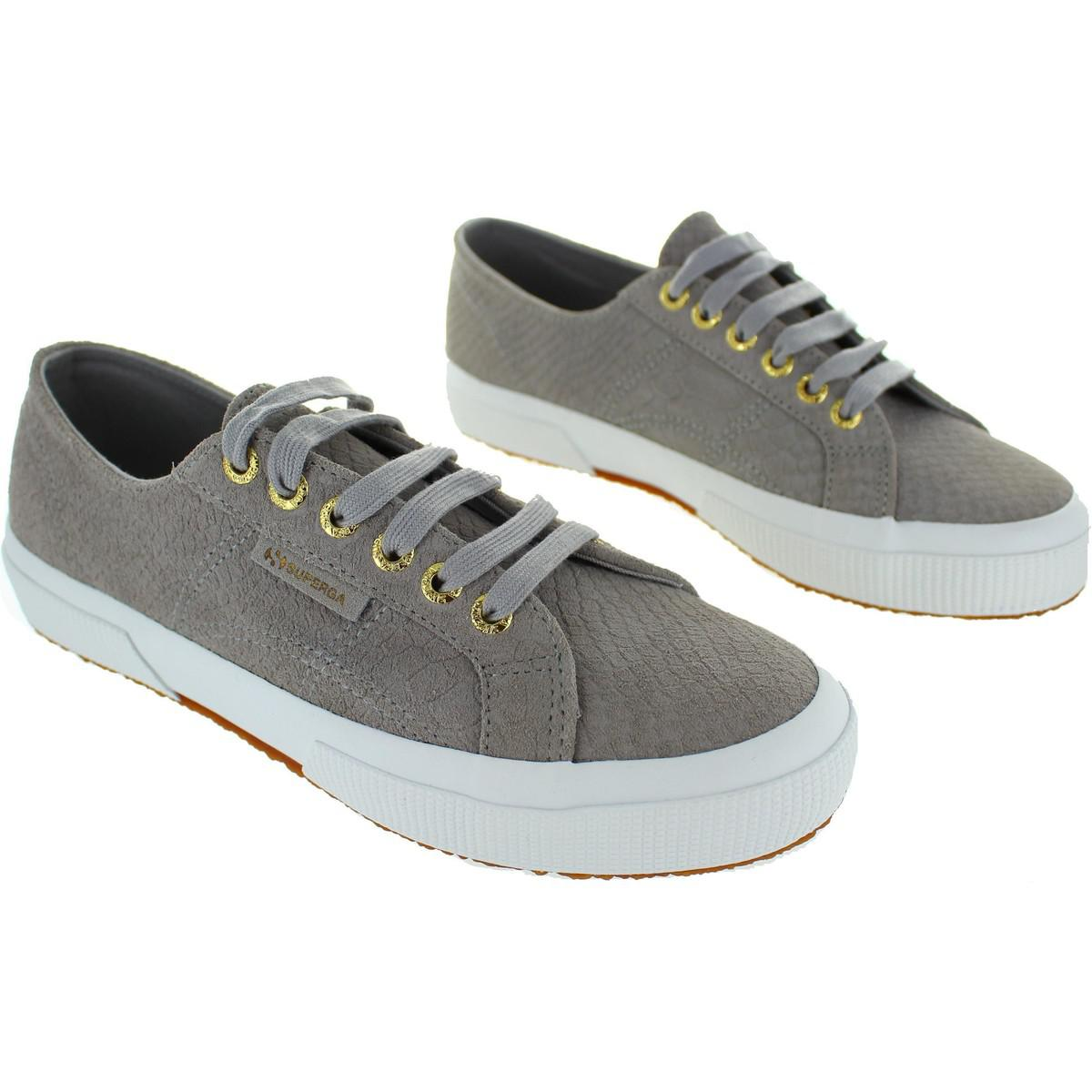 ever popular new products brand new Superga 2750 Suede Anaconda Women's Shoes (trainers) In Grey in ...