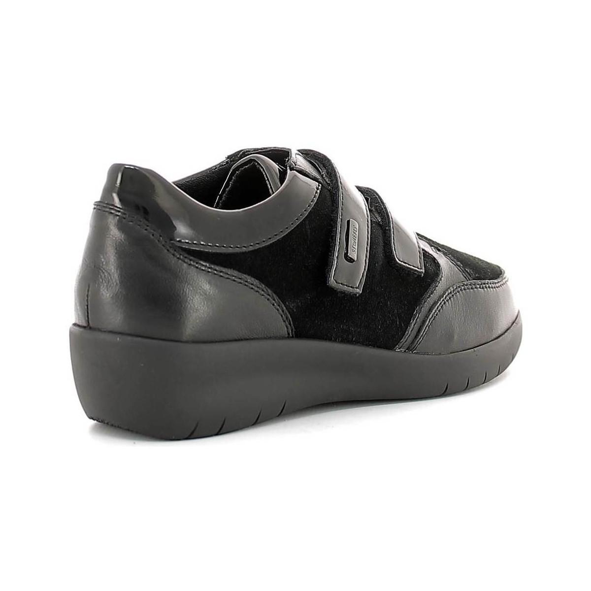 Stonefly 107086 Scarpa Velcro Women Women's Walking Boots In Black