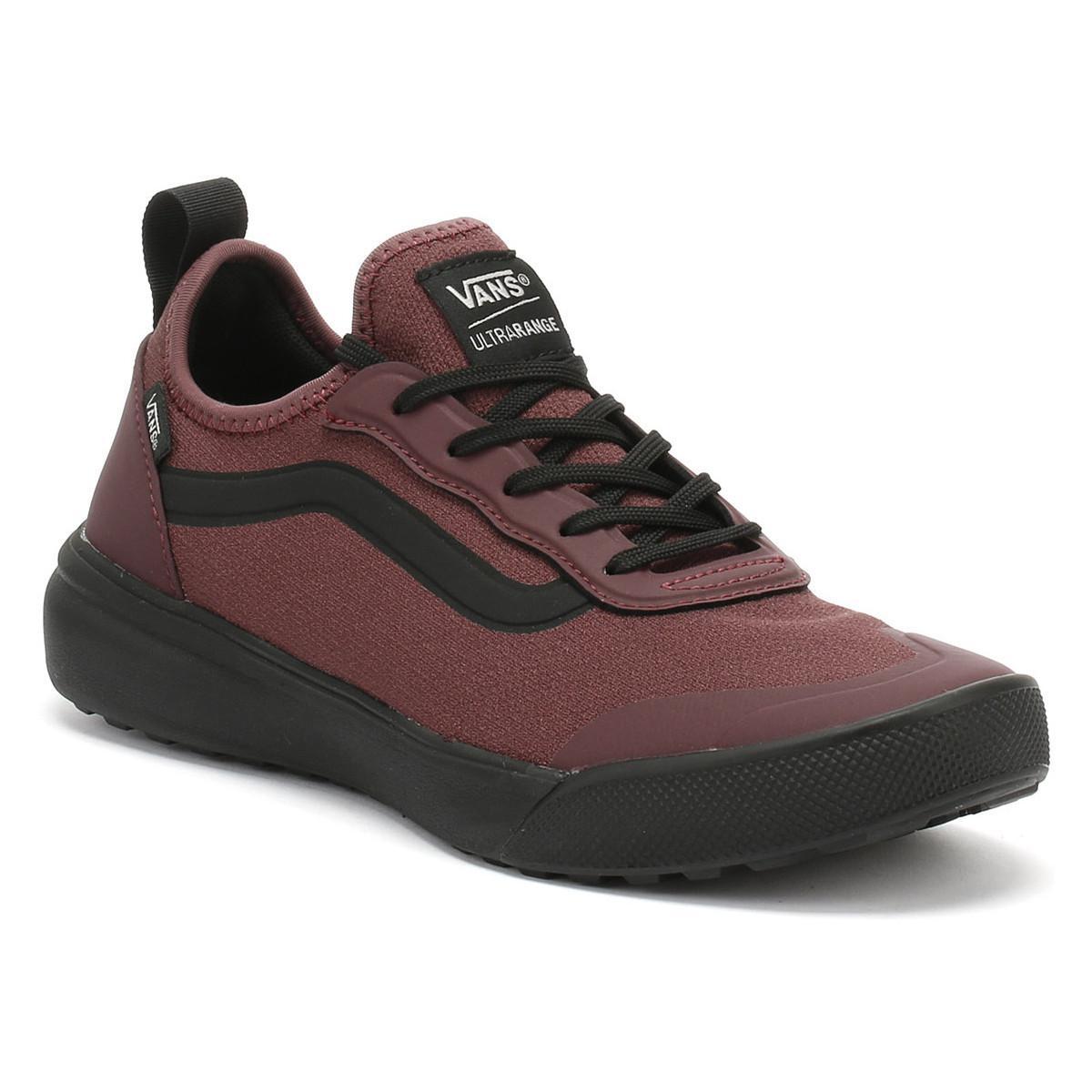067d9505732 Vans - Catawba Grape Burgundy   Black Ultrarange Ac Trainers Women s Shoes  (trainers) In. View fullscreen