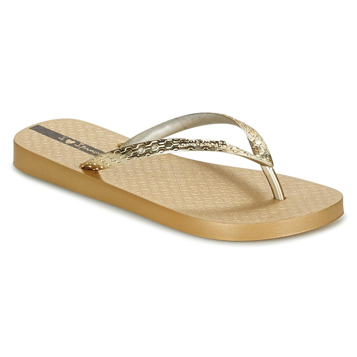 f51f28352 Ipanema Glam Women s Flip Flops   Sandals (shoes) In Gold in ...
