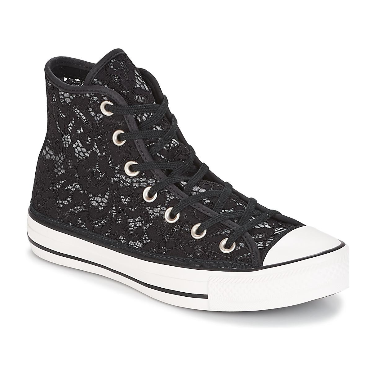 b9358d57834b Converse. Chuck Taylor All Star-hi Women s Shoes (high-top Trainers) In  Black