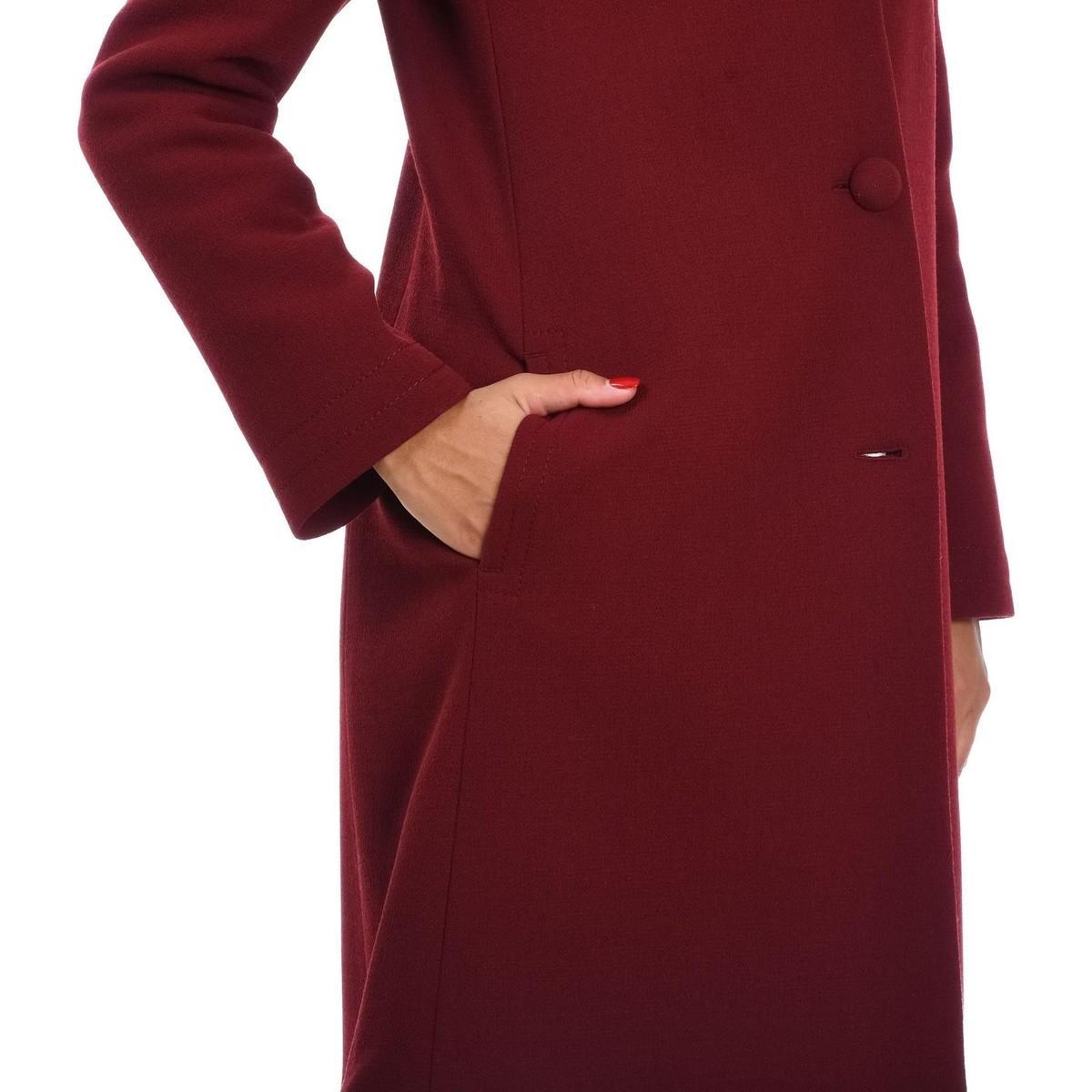 MANTEAU FEMME Manteau L'Autre Chose en coloris Rouge bAXPK
