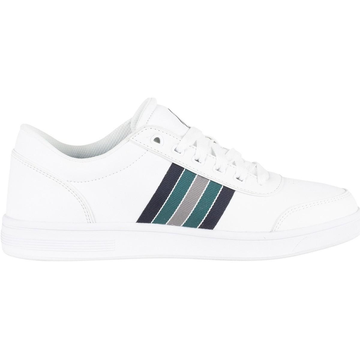 K-swiss Men's Court Clarkson S Trainers, White Men's Shoes (trainers) In White for Men