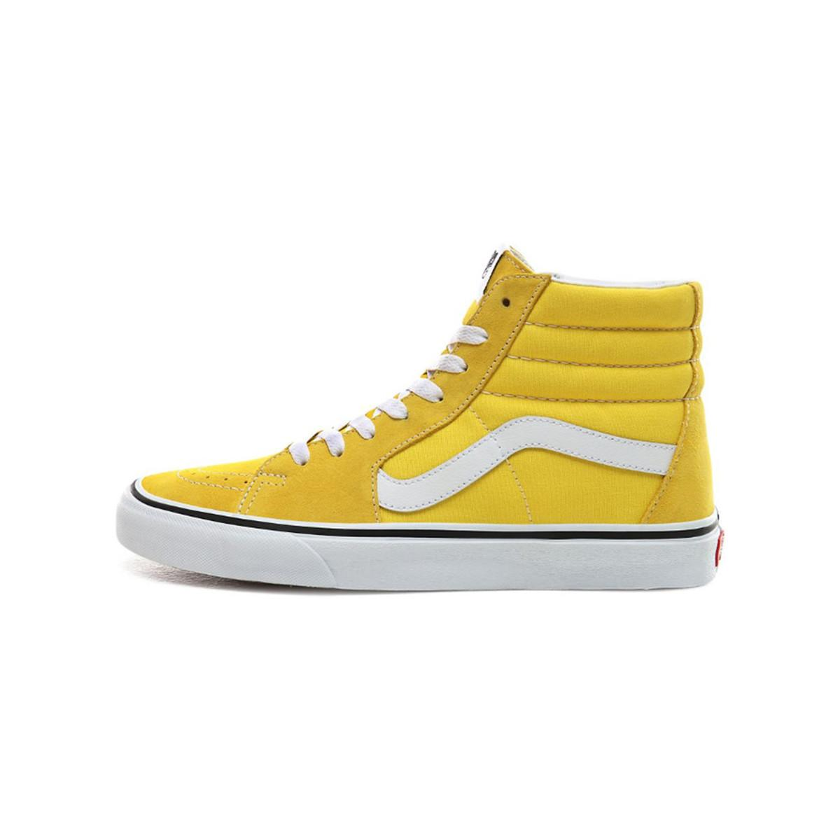 Basket SK8-HI femmes Chaussures en jaune Vans en coloris Jaune - Lyst