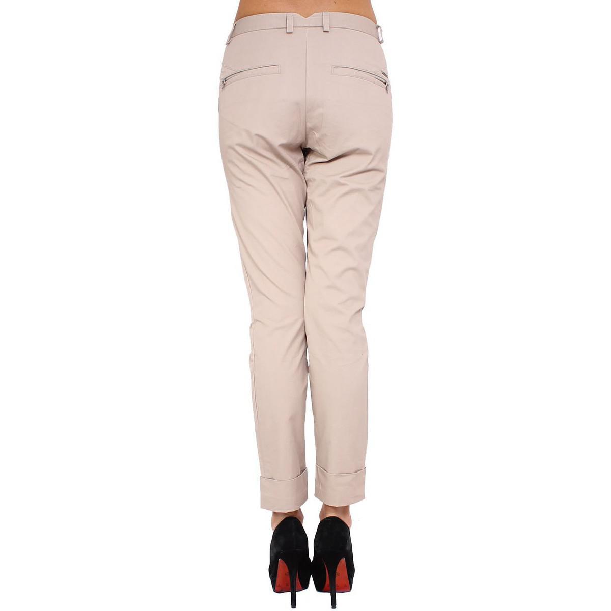 6fd12d22 DIESEL - Natural - Women's Trousers Pungyo Women's Trousers In Beige -  Lyst. View fullscreen