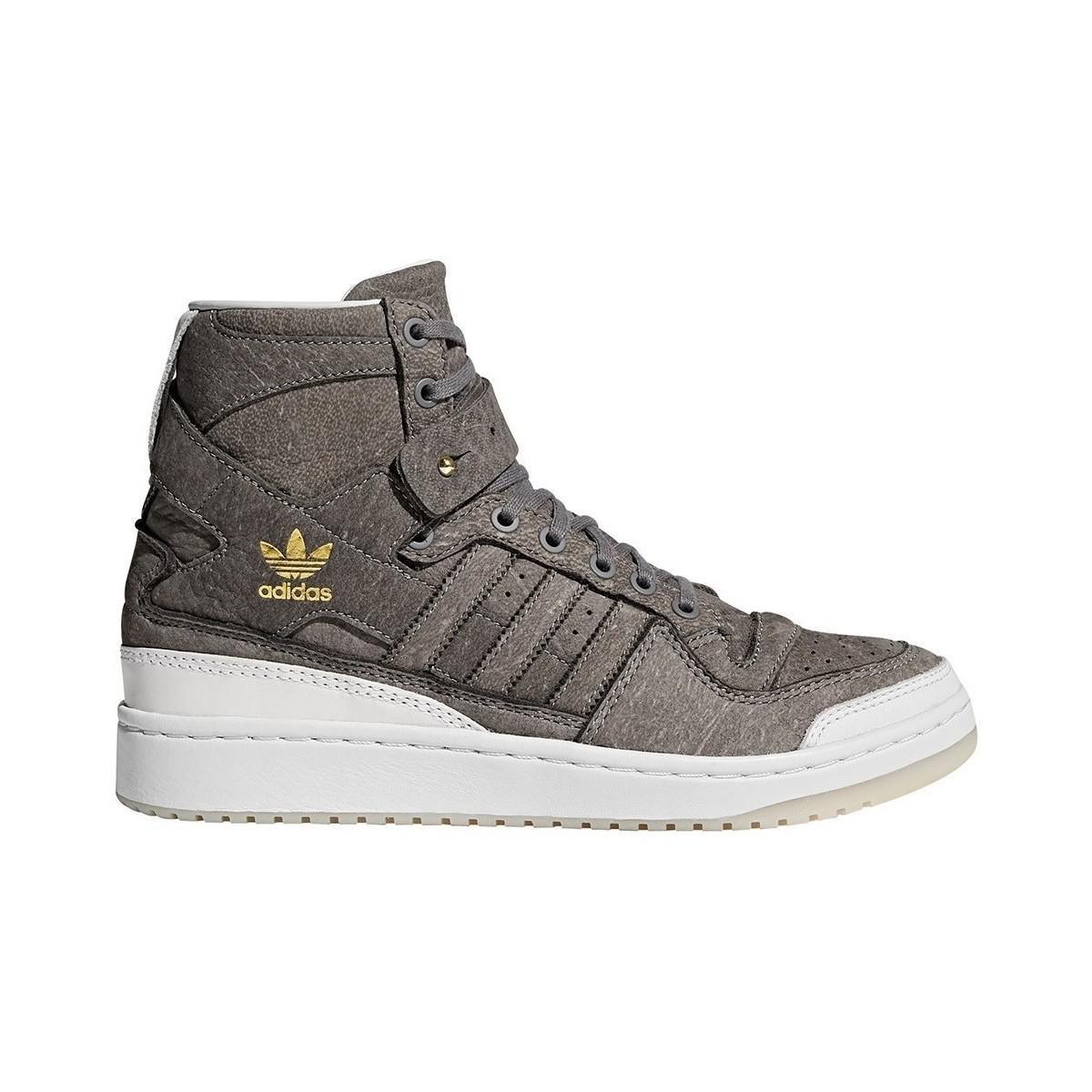 adidas forum ciao (scarpe da uomo (high top formatori) in grigio