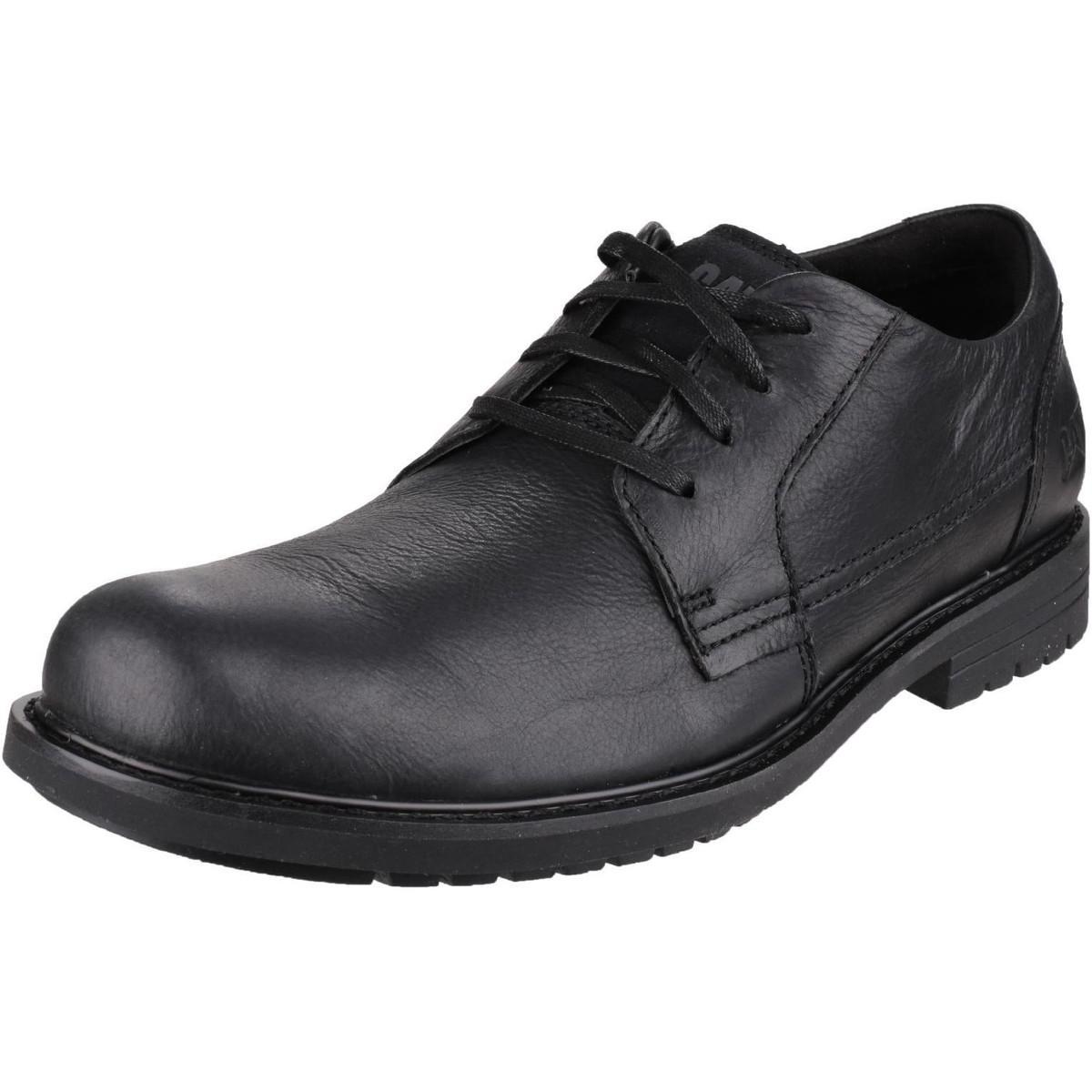Caterpillar Leather Cason Shoe in Black for Men