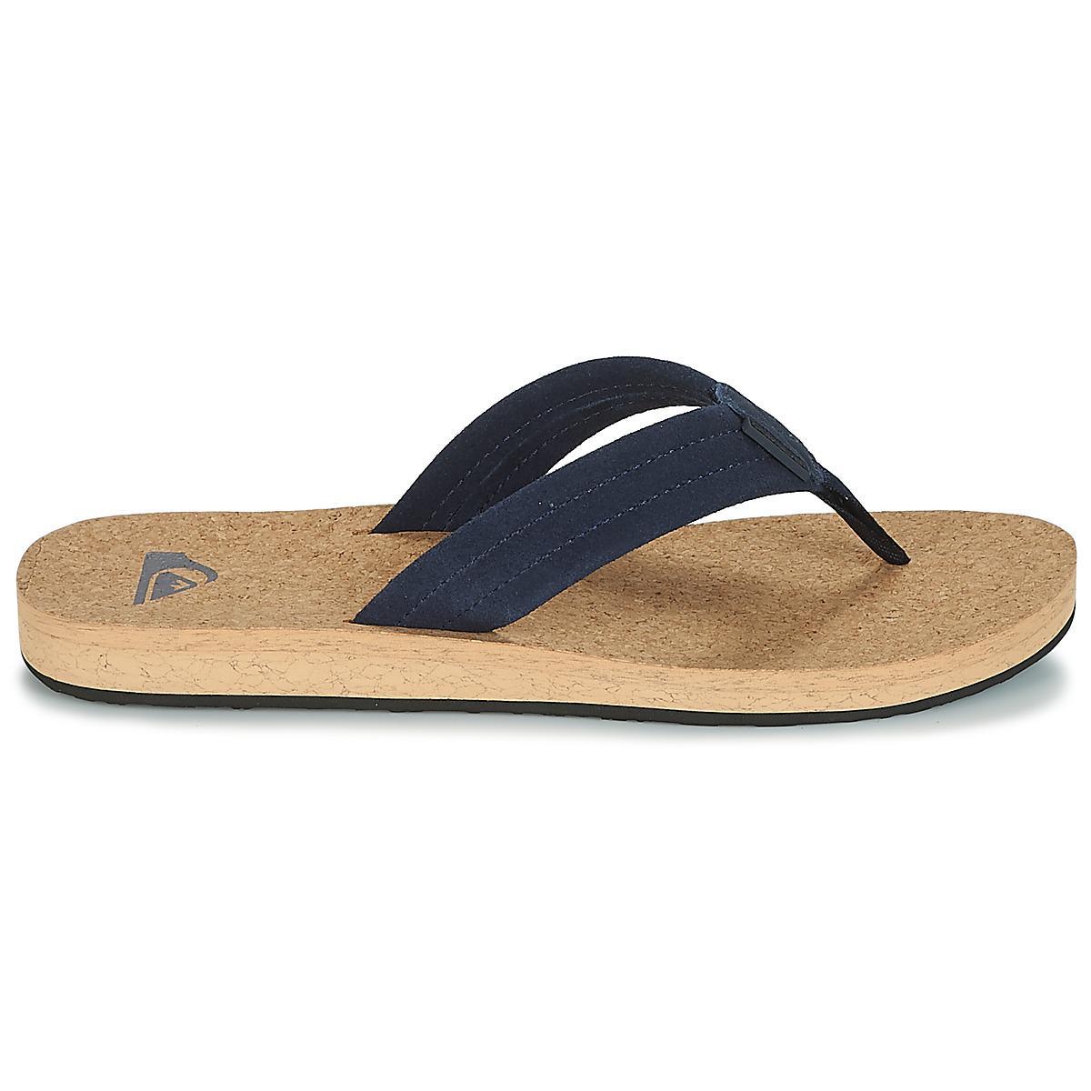05940f28a419 Quiksilver Carver Cork M Sndl Xbcb Men s Flip Flops   Sandals (shoes ...