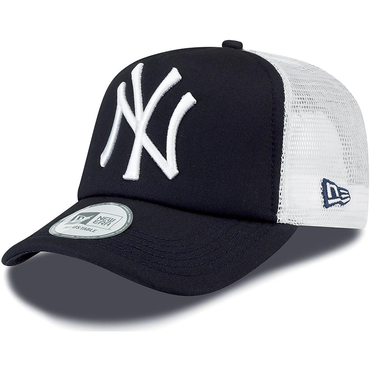 Ktz Ny Yankees Clean A Frame Trucker Cap - Navy Women s Cap In Blue ... 13afb3669b