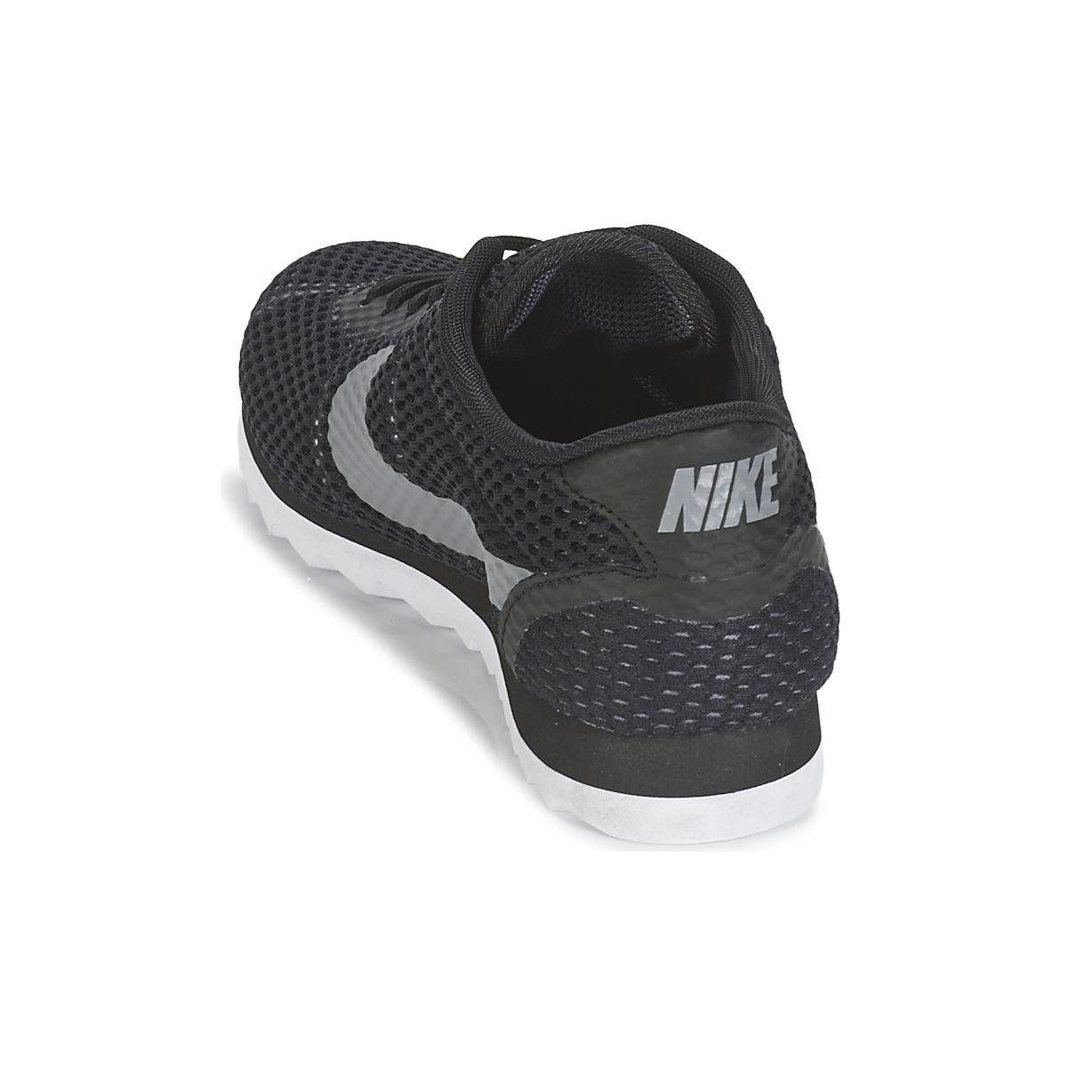 Nike Cortez Ultra Breathe W Women's Shoes (trainers) In Black